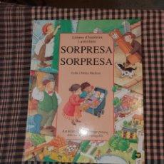 Libros de segunda mano: LLIBRES D'HISTORIES I ACTIVITAYS, SORPRESA SORPRESA,.. Lote 186177190