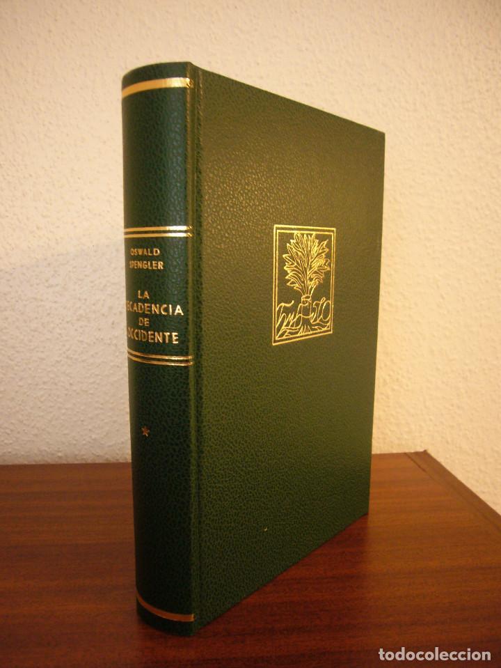 Libros de segunda mano: OSWALD SPENGLER: LA DECADENCIA DE OCCIDENTE I Y II. OBRA COMPLETA (ESPASA-CALPE) - Foto 6 - 186240422