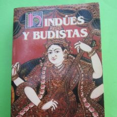 Libros de segunda mano: HINDUES Y BUDISTAS. MITOS Y LEYENDAS NIVEDITA, SISTER & COOMARASWAMY , ANANDA , 1995. Lote 186250048
