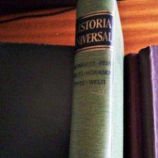 Libros de segunda mano: HISTORIA UNIVERSAL. BAUMHAUER Y OTROS. 1.969. Lote 186304298