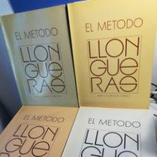 Livros em segunda mão: EL MÉTODO LLONGUERAS/ COMPLETO 4 VOLÚMENES/ PELUQUERÍA. Lote 186318652