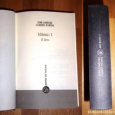 Libros de segunda mano: MILENIO 3 : EL LIBRO (PUNTO DE LECTURA ; 54/2) / IKER JIMÉNEZ, CARMEN PORTER. Lote 186354567
