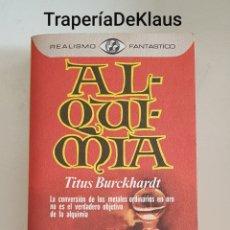 Libros de segunda mano: ALQUIMIA - TITUS - REALISMO FNTASTICO - TDK191. Lote 186359240