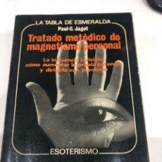 Libros de segunda mano: LA TABLA DE ESMERALDA. Lote 186359340