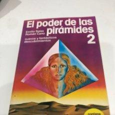 Libros de segunda mano: EL PODER DE LAS PIRÁMIDES 2. Lote 186361721