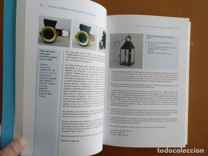 Libros de segunda mano: EL VIDRE EN MUSEUS DE LES COMARQUES DE TARRAGONA 2004 TEXTO EN CATALAN Y CASTELLANO - Foto 2 - 186398393