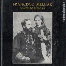 Libros de segunda mano: FRANCISCO MELGAR : PEQUEÑA HISTORIA DE LAS GUERRAS CARLISTAS (GÓMEZ, PAMPLONA, 1958). Lote 186437310