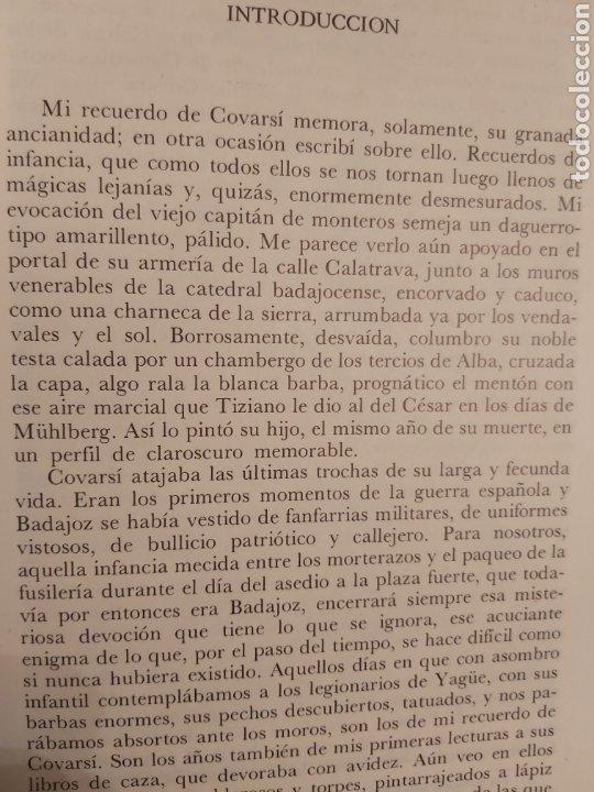 Libros de segunda mano: NARRACIONES DE UN MONTERO. ANTONIO COVARSI 1985. EDICIÓN FACSIMIL - Foto 4 - 186449088