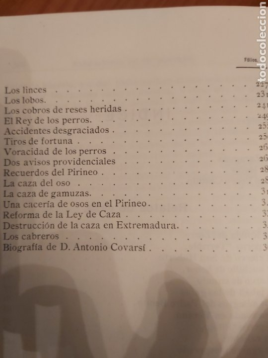 Libros de segunda mano: NARRACIONES DE UN MONTERO. ANTONIO COVARSI 1985. EDICIÓN FACSIMIL - Foto 7 - 186449088