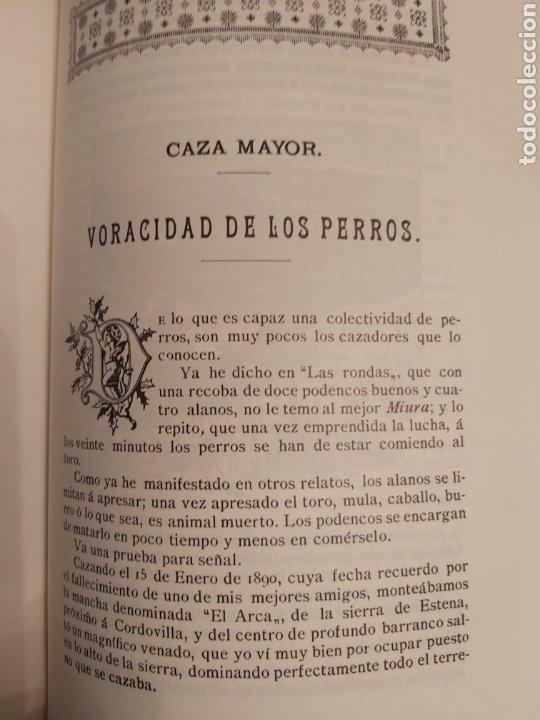 Libros de segunda mano: NARRACIONES DE UN MONTERO. ANTONIO COVARSI 1985. EDICIÓN FACSIMIL - Foto 10 - 186449088