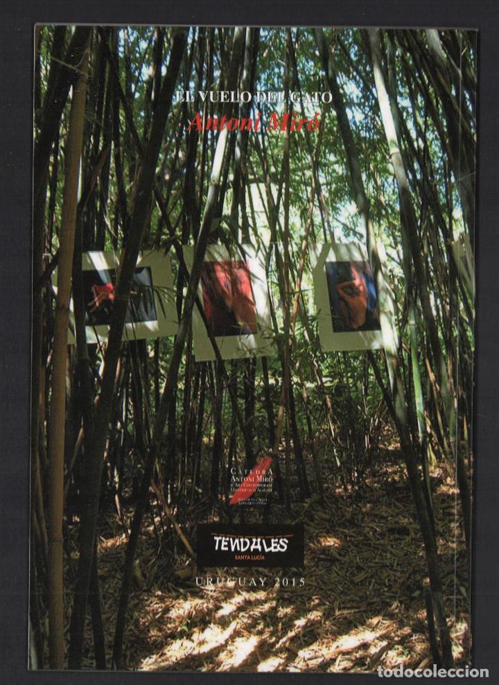 Libros de segunda mano: ANTONI MIRÓ EL VUELO DEL GATO EXPOS ITINERANTE CENTRO CULTURAL JOSÉ E RODÓ SANTA LUCÍA URUGUAY 2015 - Foto 17 - 186449095