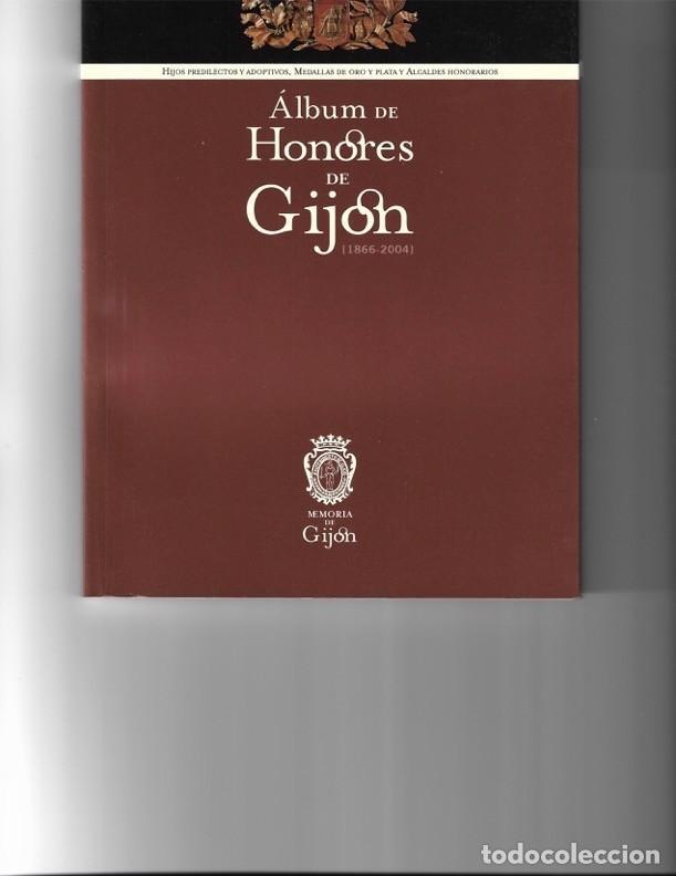 ÁLBUM DE HONORES DE GIJÓN (Libros de Segunda Mano - Ciencias, Manuales y Oficios - Otros)