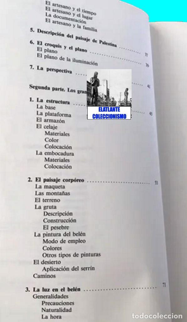 Libros de segunda mano: EL BELÉN TRADICIONAL - HISTORIA, CLASES DE BELENES, CONCEPCIÓN REALIZACIÓN DE PROYECTOS - M. VELASCO - Foto 8 - 186455318