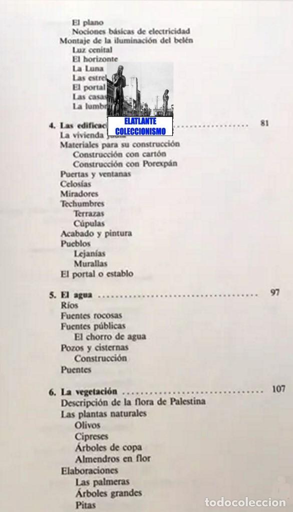 Libros de segunda mano: EL BELÉN TRADICIONAL - HISTORIA, CLASES DE BELENES, CONCEPCIÓN REALIZACIÓN DE PROYECTOS - M. VELASCO - Foto 9 - 186455318