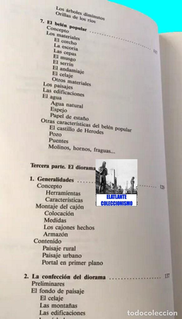 Libros de segunda mano: EL BELÉN TRADICIONAL - HISTORIA, CLASES DE BELENES, CONCEPCIÓN REALIZACIÓN DE PROYECTOS - M. VELASCO - Foto 10 - 186455318