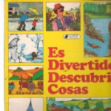 Libros de segunda mano: ES DIVERTIDO DESCUBRIR COSAS. CLIPER / PLAZA & JANÉS, 1981.(Z/9). Lote 186456543