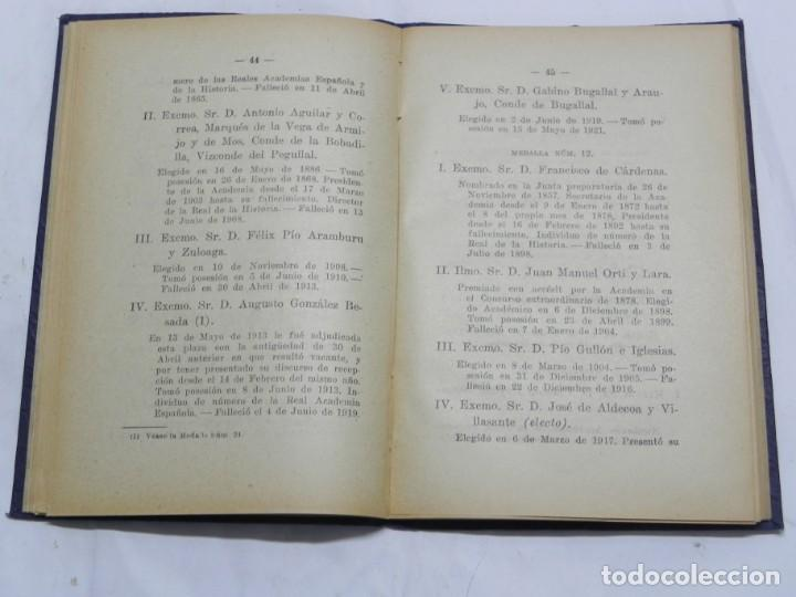 Libros de segunda mano: REAL ACADEMIA DE CIENCIAS MORALES Y POLITICAS, AÑOS 1926, 1931, 1932 Y 1936, REPUBLICA. MIDEN 15,5 X - Foto 6 - 186652550