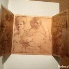 Libros de segunda mano: TRIPTIC DE TIRANT LO BLANC - JOSEP PALACIOS - VALENCIA 1990. Lote 187071678