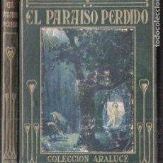 Libros de segunda mano: ARALUCE : CUENTOS DE LA ALHAMBRA (1914.) ILUSTRADO POR SEGRELLES. Lote 187098523