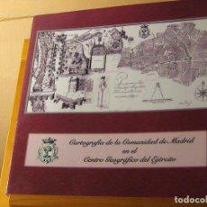 Libros de segunda mano: CARTOGRAFÍA DE LA COMUNIDAD DE MADRID EN EL CENTRO GEOGRÁFICO DEL EJÉRCITO. ESTÁ NUEVO. Lote 187118353