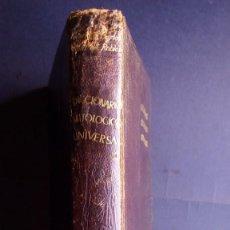 Libros de segunda mano: OBRAS DE CONSULTA, DICCIONARIO MITÓLÓGICO, AGUILAR. Lote 146640506