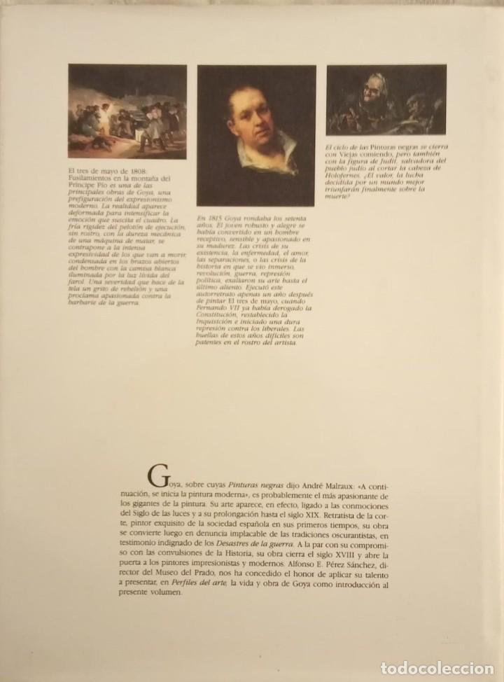 Libros de segunda mano: GOYA - Alfonso Pérez Sánchez (1990) - Foto 2 - 187199652