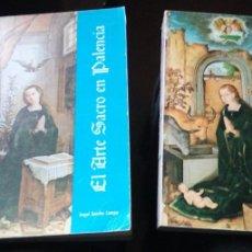 Libros de segunda mano: EL ARTE SACRO EN PALENCIA I Y II - LA NAVIDAD EN EL ARTE PALENTINO - ANGEL SANCHO CAMPO - 1971 . Lote 187245988