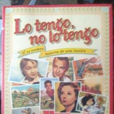 Libros de segunda mano: LO TENGO, NO LO TENGO - JAVIER CONDE. Lote 187292570
