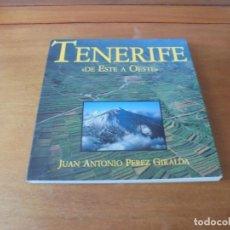 Libros de segunda mano: TENERIFE DE ESTE A OESTE. BELLAS FOTOGRAFÍAS DE 1990 NORTE Y SUR DE LA ISLA.. Lote 187377468