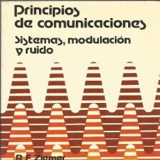 Libros de segunda mano: PRINCIPIOS DE COMUNICACIONES. SISTEMAS, MODULACIÓN Y RUIDO. R. E. ZIEMER. W. H. TRANTER. . Lote 187398387