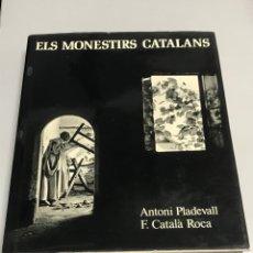 Libros de segunda mano: ELS MONESTIRS CATALANS. Lote 187411701