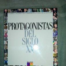 Libros de segunda mano: LOS PROTAGONISTAS DEL SIGLO XX..1999. Lote 187454406