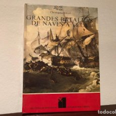 Libros de segunda mano: GRANDES BATALLAS DE NAVES A VELA. CHRISTOPHER LLOYD. INTERNACIONAL LIBRARY,. Lote 187454995