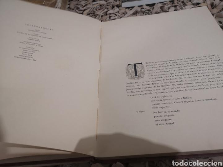 Libros de segunda mano: BILBAO. LUIS CALVO FERNÁNDEZ. EXCLUSIVAS TRIUNFO, BILBAO, 1954. HUECOGRABADO ARTE. - Foto 3 - 187514531