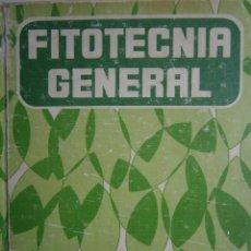 Libros de segunda mano: FITOTECNIA GENERAL DIEHL MATEO BOX MUNDI PRENSA 1988. Lote 187518462