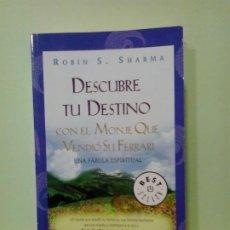 Libros de segunda mano: LMV - DESCUBRE TU DESTINO. ROBIN S. SHARMA. Lote 187583828
