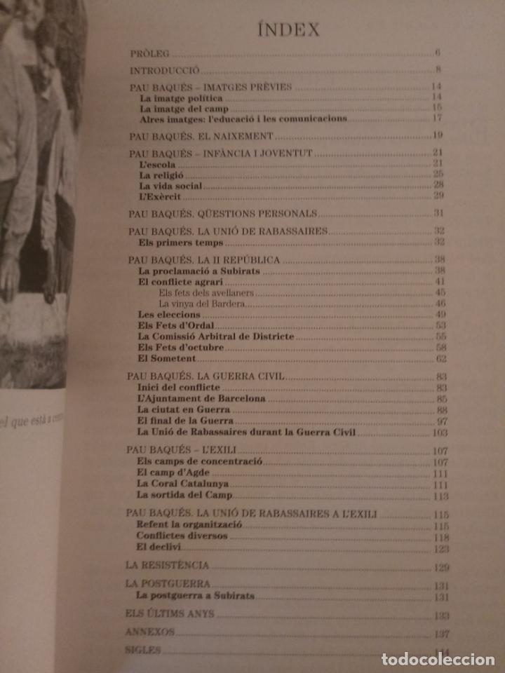 Libros de segunda mano: PAU BAQUÉS - REPÚBLICA I RABASSAIRE - JOSEP MATA - IL·LUSTRAT - CATALÀ - SUBIRATS 2010 - Foto 2 - 187771816