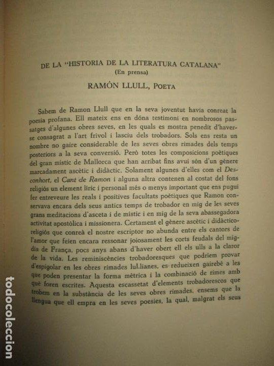 Libros de segunda mano: BIBLIOGRAFÍA DE MANUEL DE MONTOLIU. Homenaje en sus bodas de oro con las letras. TORRES BRULL, F. - Foto 6 - 123253399