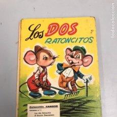 Libros de segunda mano: LOS DOS RATONCITOS. Lote 188439232