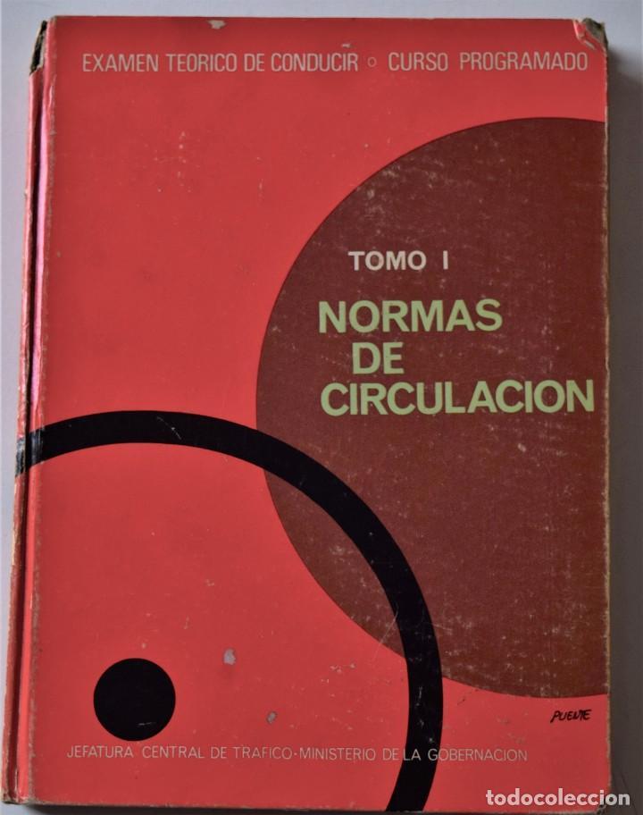 Libros de segunda mano: LOTE 4 TOMOS EXAMEN TEÓRICO DE CONDUCIR, CURSO PROGRAMADO - MECÁNICA, NORMAS Y SEÑALES 1969 - Foto 3 - 188478655