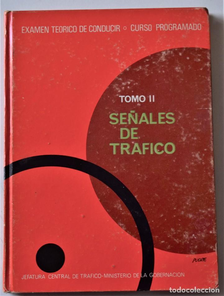 Libros de segunda mano: LOTE 4 TOMOS EXAMEN TEÓRICO DE CONDUCIR, CURSO PROGRAMADO - MECÁNICA, NORMAS Y SEÑALES 1969 - Foto 5 - 188478655