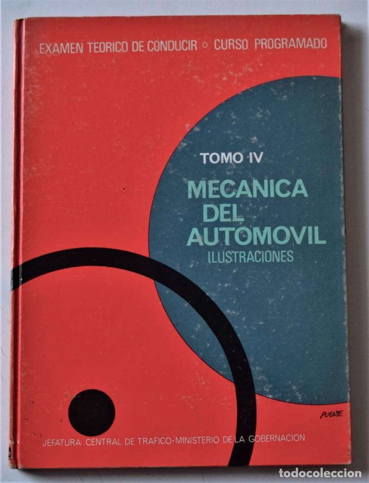 Libros de segunda mano: LOTE 4 TOMOS EXAMEN TEÓRICO DE CONDUCIR, CURSO PROGRAMADO - MECÁNICA, NORMAS Y SEÑALES 1969 - Foto 9 - 188478655