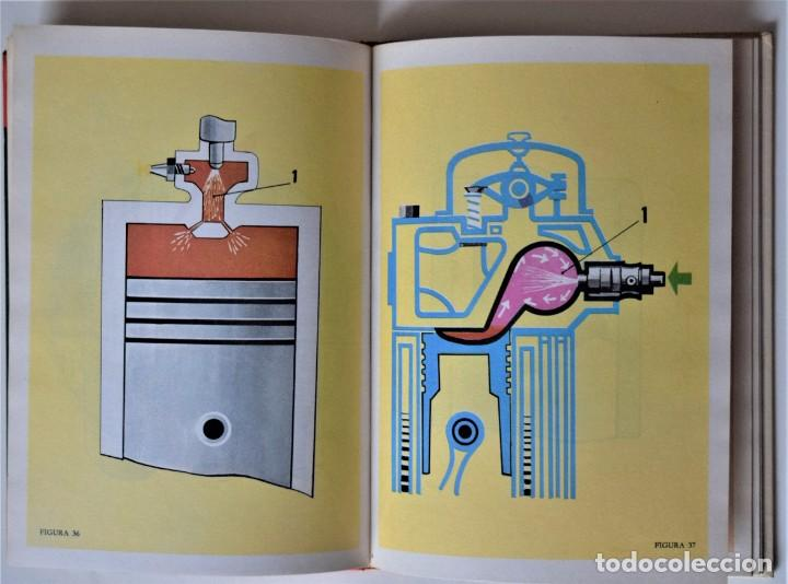 Libros de segunda mano: LOTE 4 TOMOS EXAMEN TEÓRICO DE CONDUCIR, CURSO PROGRAMADO - MECÁNICA, NORMAS Y SEÑALES 1969 - Foto 10 - 188478655