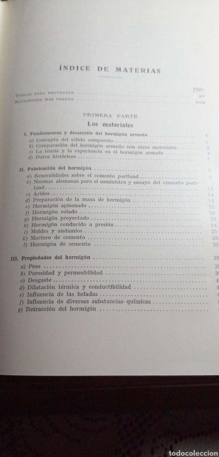 Libros de segunda mano: ANTIGUO LIBRO DE 1940 EL HORMIGÓN ARMADO POR RUDOLF SALIGER - Foto 3 - 188494383