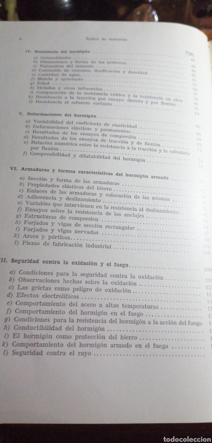 Libros de segunda mano: ANTIGUO LIBRO DE 1940 EL HORMIGÓN ARMADO POR RUDOLF SALIGER - Foto 4 - 188494383
