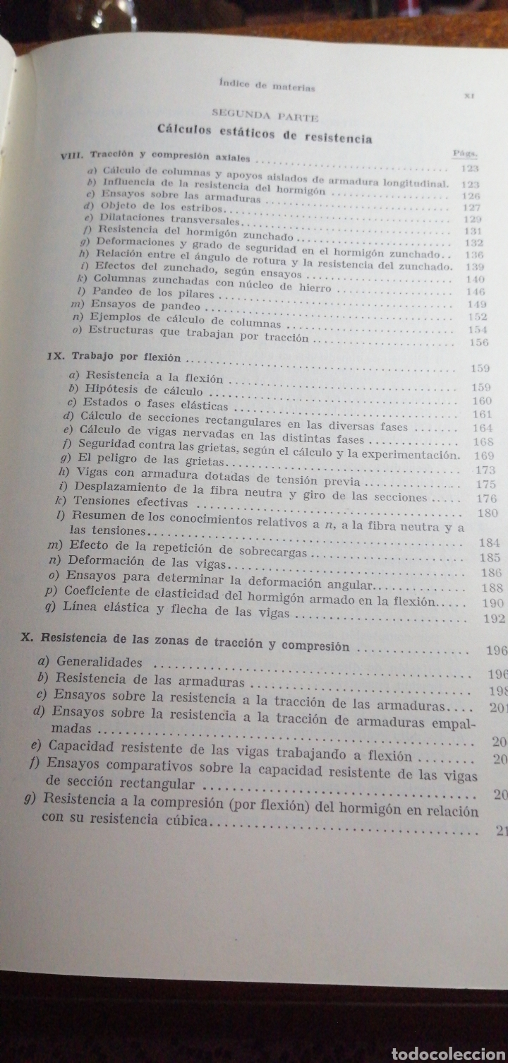 Libros de segunda mano: ANTIGUO LIBRO DE 1940 EL HORMIGÓN ARMADO POR RUDOLF SALIGER - Foto 5 - 188494383