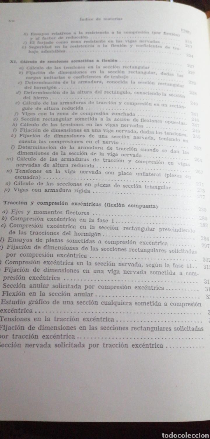 Libros de segunda mano: ANTIGUO LIBRO DE 1940 EL HORMIGÓN ARMADO POR RUDOLF SALIGER - Foto 6 - 188494383