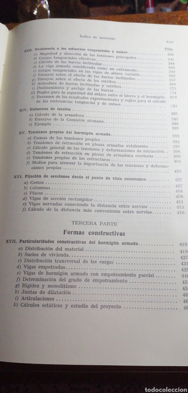 Libros de segunda mano: ANTIGUO LIBRO DE 1940 EL HORMIGÓN ARMADO POR RUDOLF SALIGER - Foto 7 - 188494383