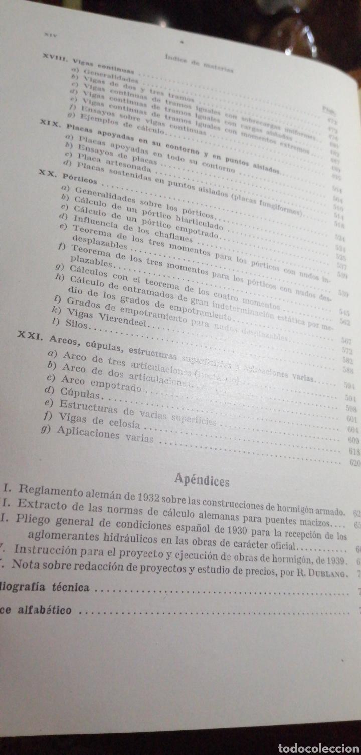 Libros de segunda mano: ANTIGUO LIBRO DE 1940 EL HORMIGÓN ARMADO POR RUDOLF SALIGER - Foto 8 - 188494383
