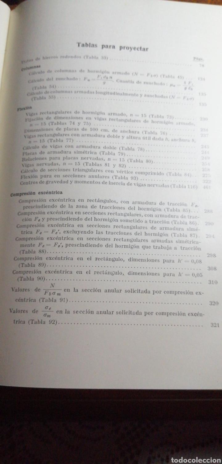Libros de segunda mano: ANTIGUO LIBRO DE 1940 EL HORMIGÓN ARMADO POR RUDOLF SALIGER - Foto 9 - 188494383